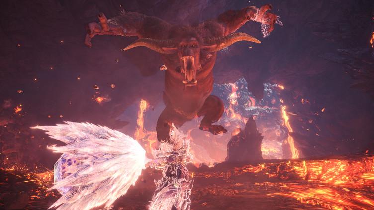 Rajang arrives in Monster Hunter World: Iceborne new update