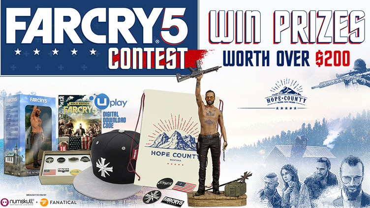 Win Far Cry 5 prizes worth over $200 | Fanatical
