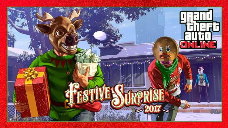 Gta 5 Christmas.Gta Online Festive Surprise Check Out The Discounts