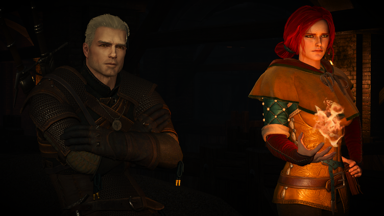Henry Cavill mod changes Geralt's look in The Witcher 3