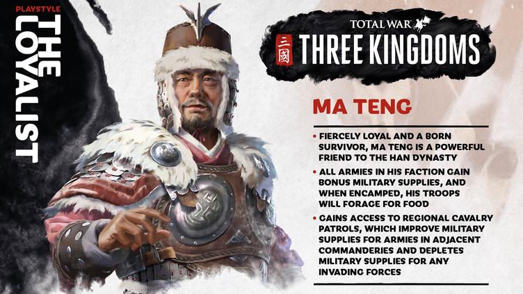 Total War Three Kingdoms - Meet the 12 factions battling for ancient