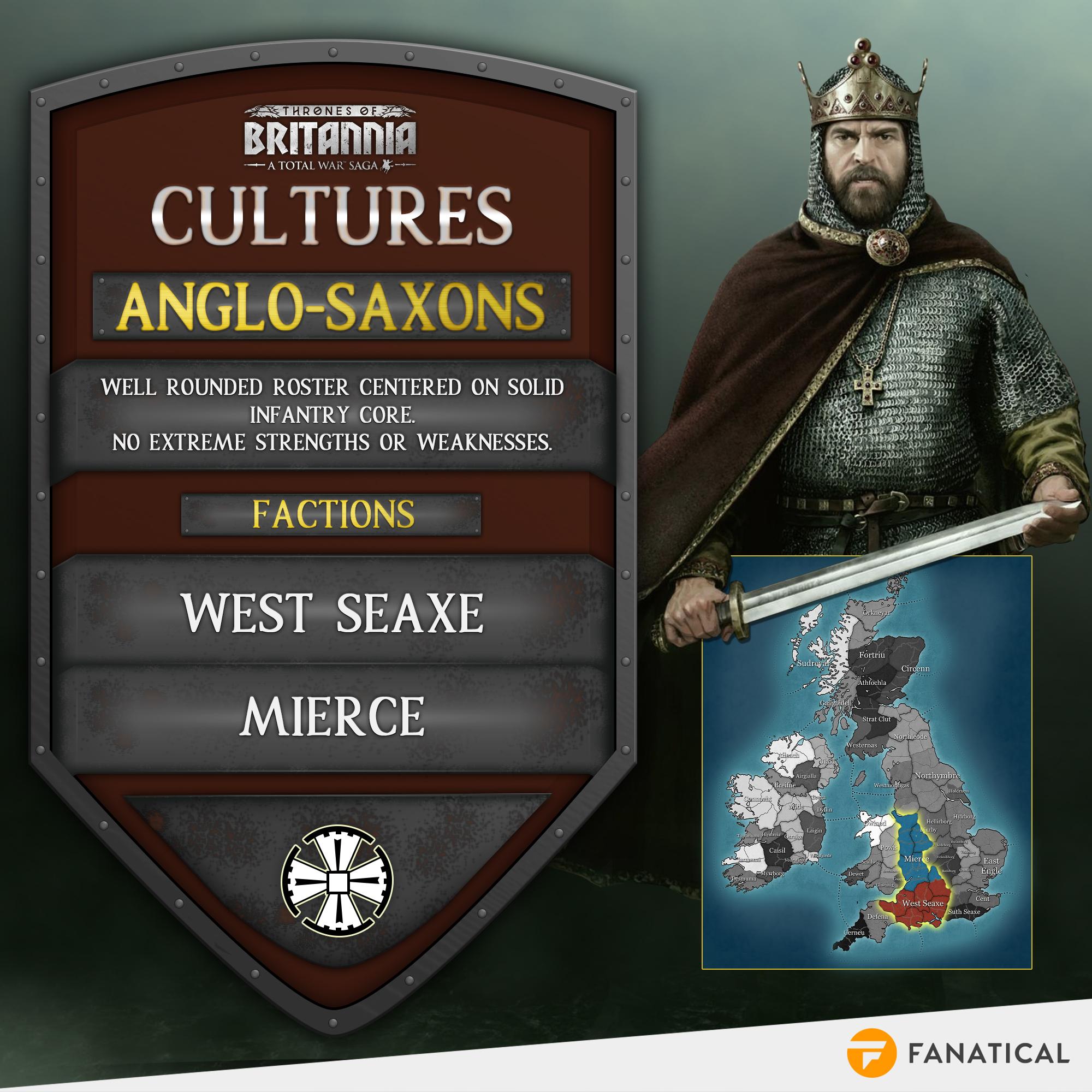 Total War Saga: Thrones of Britannia – Meet the factions | Fanatical