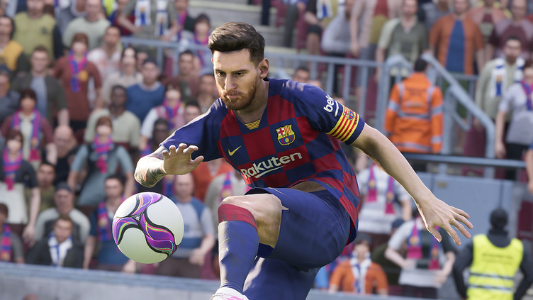 eFootball PES 2020 - How the game graphics have changed in 10 years